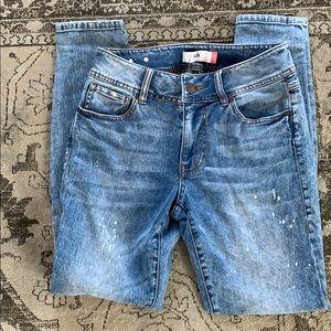 Cabi stretch skinny jeans size 6
